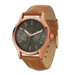 Rose Gold Finish Watch